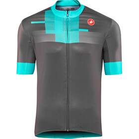 Castelli A Bloc FZ Jersey Men dark grey